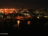 Durban Harbour at night Point Road views