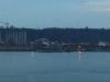 Durban Harbour at night Salisbury Island and Bluff