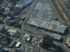 Durban container depot from the air car terminus
