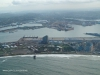 Durban harbour looking over Moya Pier