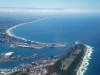 durban harber from air