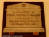 Durban  Christ Church Addington Plaque Sgt. Carmichael 1916