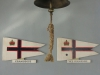 Royal Natal Yacht Club - Britannia Room -  Commodore Flags