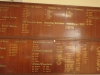 Royal Natal Yacht Club - Honours Boards (1)