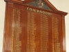 Royal Natal Yacht Club - Honours Boards - Commodore (1)