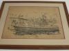 Royal Natal Yacht Club - Trafalgar Room - drawing Captain Bell Tug