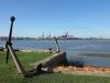 Royal Natal Yacht Club -  View over bay  & Anchors (2)