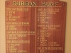 Durban Surf Lifesaving Club - Honours Board - Australia - Tri Nation  - New Zealand