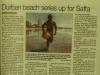 Durban Surf Lifesaving photographic memorabilia Durban Beach rescue