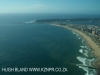Durban Beaches Point area and harbour mouth