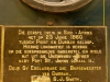 Durban Station Natal Steam train replica Plaque 1946. (2)
