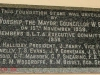 Westridge Park Tennis - Foundation Stone - Stadium - 1958 - Mayor W.E. Shaw - Durban Lawn Tennis Association