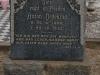 Elandheim Cemetery grave of  Anton Dedekind 1922