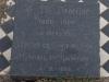 Elandheim Cemetery grave of  CM dedekind