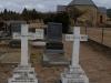 Elandheim Cemetery grave of  Pastor Engelbrecht and Martha Engelbrecht