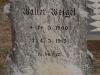 Elandheim Cemetery grave of  Walter Wiezel 1915