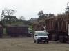 Felixton Mill -  Cane truck holding area