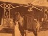 Cotswold - Lady McKenzie on horseback (2)