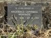 Lions Bush Farm Cemetery grave Archibald Campbell McKenzie and Helen Mary McKenzie