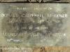 Lions Bush Farm Cemetery grave Donald Campbell McKenzie 1935 and Margaret Mary McKenzie 1959