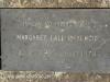Lions Bush Farm Cemetery grave Margaret Lall McKenzie 1979