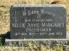 Lions Bush Farm Cemetery grave Nellie Palframan 1973