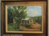 Lions Bush painting of original home before fire