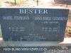 Geluksburg Cemetery Graves - Daniel and Anna Bester