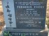 Geluksburg Cemetery Graves - Frederic & Gertruda Potgieter