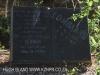 Geluksburg Cemetery Graves - Herman Lombard 1977