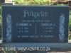 Geluksburg Cemetery Graves - Hermanus and Cornelia Potgieter