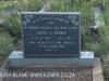 Geluksburg Cemetery Graves - Jacob Fourie