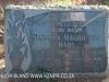 Geluksburg Cemetery Graves -  Susanna rabe 1974