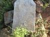 Geluksburg Cemetery Graves - unreadable sandstone