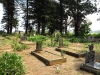 Holy Cross Mission - Cemetery overview