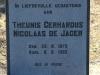 Wasbank - Manor House - De Jager - Graves - Theunis Gerhardus N. De Jager 1962. (1)