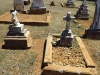 Greytown Cemetery - Grave - C W & M Harris -1900