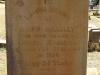 Greytown Cemetery - Grave -  Mark Handley - Rhodesian Rebellion at Inyati 1896 (1)