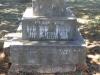 Greytown Cemetery - Grave -  Sarah Strickland 1893