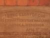 Greytown - Methodist Church - Pine Street - Plaque Mr Justice Weir Mason - 1902