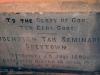 Greytown Museum - Durban Street - Hugenotem Tak Seminarie greytown - Foundation Stone 1892