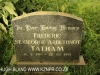 Hilton family grave Frederic St George Tatham