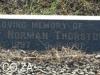 Himeville Cemetery - grave Albert Thurston  (136)