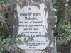 Himeville Cemetery - grave Anne malcolm)