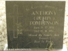 Himeville Cemetery - grave Anthony Tomlinson 1994)