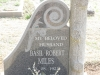 Himeville Cemetery - grave Basil Miles