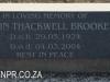 Himeville Cemetery - grave Colin Brooke