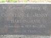 Himeville Cemetery - grave Constance hardingham