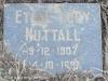 Himeville Cemetery - grave  Ethel Nuttall