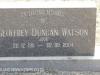 Himeville Cemetery - grave  Geoffrey Watson
